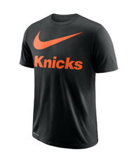 3f8b50fd Nike Dri-Fit Men's NBA New York Knicks Team Swoosh Logo T-Shirt -