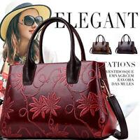 Luxus Leder Damen Tasche Shopper Bag Handtasche Schultertasche Umhängetasche