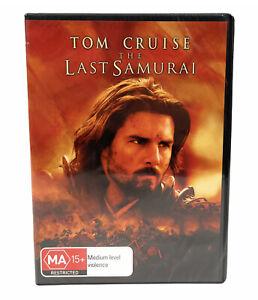 The Last Samurai (DVD, 2003) Tom Cruise New & Sealed Region 4 Free Postage