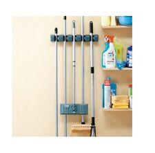 2 x Garden Tool Hanger Organizer Hangable Tools Broom Rake Garage Organizer NEW