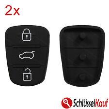 2x Hyundai Kia Autoschlüssel 3 Tasten Tastenfeld i10 i20 i30 ix35 ix20 Elantra