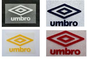 Retro Umbro diamond logo rounded corners Press on clothing football shirt Euros