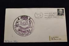 Naval Cover 1973 Ship Cancel Operation Deepfreeze U.S. Naval Support Force (1911