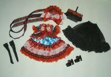 Pullip Outfit Kleidung Kirsche mit Schuhen und Körbchen