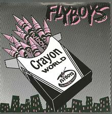 Flyboys - Crayon World 1979 US Blue Vinyl Punk 45 VG