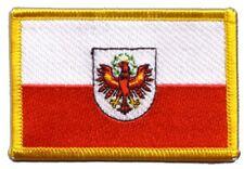 Österreich Tirol Aufnäher Flaggen Fahnen Patch Aufbügler 8x6cm