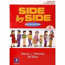 NEW Side by Side 2 Student Book 2 Audio CDs (7) by Steven J. Molinsky