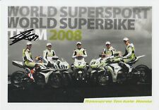Jonathan Rea Hand Signed Promo Card - World Superbikes Autograph.