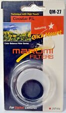 MARUMI 27mm Circular Polarizing  Filter Qlick Mount
