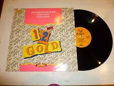 """ATLANTIC STARR - Secret Lovers - 1988 UK 2-track 12"""" vinyl single"""