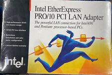 Intel EtherExpress PRO/10 PCI LAN Adapter for Intel486 & Pentium PC's **SEALED