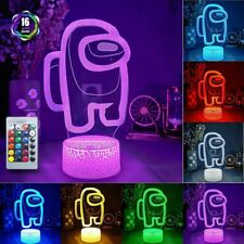 Among Us LED lamp/light imposter and Crewmate 16 color changing+ remote control