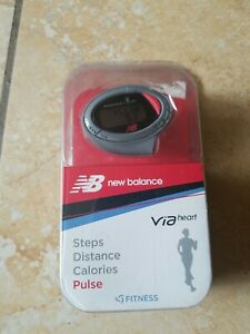 New Balance Via Heart Life Steps Distance Calories & Pulse Monitor 50025NB, NIB
