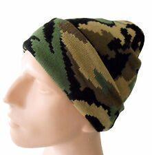 "Camouflage Ecko Unltd Winter Beanie 11"" L Free USA Shipping"