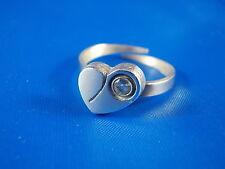 Anello FINLANDIA Cuore con cristallo roccia argento 925 punze IK MODERNISTA Boho