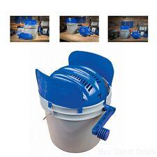 Rotary Sifter Kit Bucket Clean Tumbler Brass Media Separator Reloading Casings