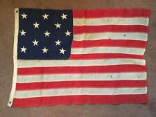 Antique 13 Star American Flag, 3-2-3-2-3 Pattern