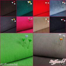 Cord Babycord Feincord 14 Farben Auswahl Cordstoff 100% Baumwolle 0,5m