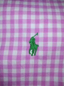 NWOT Polo Ralph Lauren Shirt Youth Sz Extra Large Button Pony Pink Gingham Plaid