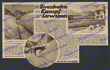 Waldbahn Reit im Winkl Ruhpolding Bahnhof Eisenbahn Schmalspur Gebirgsbahn 1930