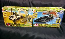 HM FORZE ARMATE Character Building Royal Navy Assault RIB/Esercito QUAD bikemini Set