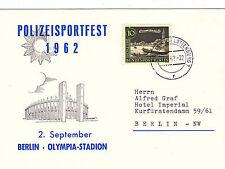 Berlin Polizeisportfest     super SST 1962