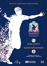 * DERBY COUNTY v QPR - 2014 CHAMPIONSHIP PLAY-OFF FINAL - MINT PROGRAMME *
