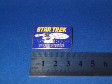 Star Trek Original Series Logo & USS Enterprise Pin Badge STPIN01
