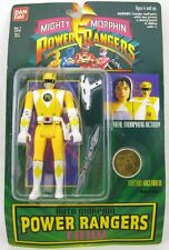 Bandai Yellow Mighty Morphin Power Rangers Trini Action Figure NIB