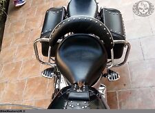 Yamaha XVS 1100 XVS1100 V-Star CL./Cu Cromo Trasero Alforja Guardia barras de choque