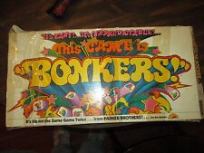 Bonkers Parker Brothers Game #51 Missing pieces 1978