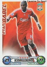 RYAN BABEL # NETHERLANDS LIVERPOOL.FC AFC.AJAX CARD PREMIER LEAGUE 2009 TOPPS