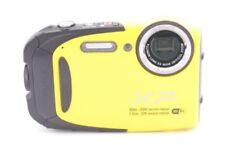 Fotocamere digitali blu Fujifilm con compensazione dell'esposizione