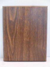 Blank Walnut Wood Finish Wall Office Plaque Board Custom Award Recognition: 8x10