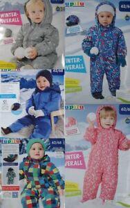 Baby Kleinkinder Jungen und  Mädchen Winteroverall Overall Lupilu