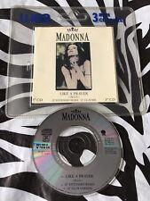 "Madonna - Like A Prayer Rare 1989 3"" CD Single"
