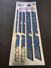 Redline RL  440 Decals Stickers Suit Your Old School BMX Blue