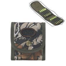 Tourbon Rifle Cartridges Pouch Bullets Carrier Wallet Ammo Holder Belt Camo USA