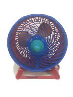 "Vintage Duracraft 8"" Fan Small Table TURBO Fan Retro 90s DT-7 SERIES Works GUC"