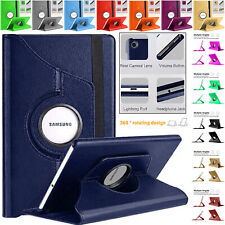 """Samsung Tab A7 10.4"""" SM-T500/T505, New Brand Leather Stand 360° Rotating Case"""