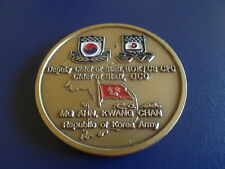 SENIOR MEMBER UNITED NATIONS COMMAND KOREA ARMY CHALLENGE COIN