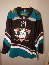 Adidas Nhl Anaheim Ducks Silver ( 25Th ) Season Alternate Hockey Jersey, Nwt