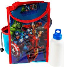 Marvel Avengers School Lunchbox Bag And Flask