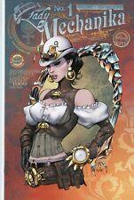 LADY MECHANIKA (2013) # 1 BIG BEN'S COMIC OASIS VARIANT JOE BENITEZ ASPEN COMICS