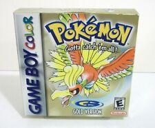 Pokemon Gold Empty Box Only NO GAME Nintendo Game Boy Color Gameboy Version GBC