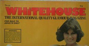 WHITEHOUSE International Magazine 1978 No.35