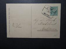 Netherlands 1924 Postcard / KAPMEN ZOWELLE Cancel - Z12596