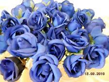 30x Rosen Knospen Seidenblumen Seidenblumen Floristik Kunstpflanze Dekomaterial