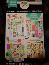 CREATE 365 Happy Planner HOLIDAYS/SEASONAL STICKER BOOK 1557pcs.1 of the BEST