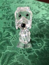 Vintage Swarovski Crystal Signed Dog